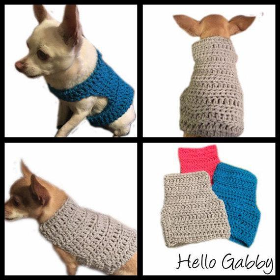 Small Dog Sweater