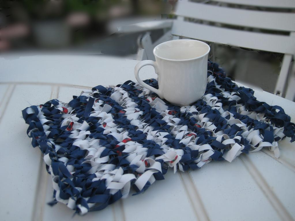 Knitted Place Mat Knitting Pattern