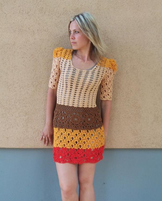 Cinnamon Dress Crochet Pattern