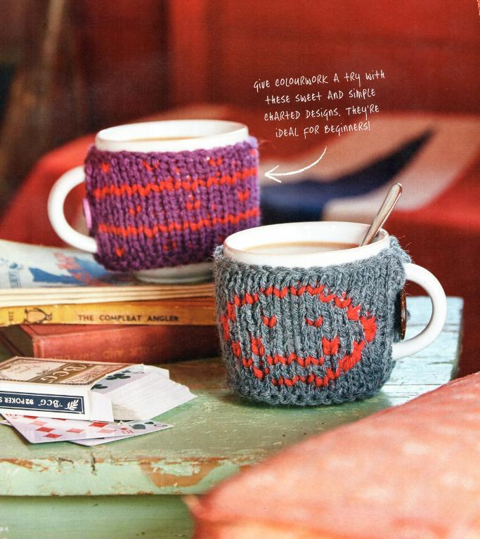 Mug Cosy FREE Knitting Pattern