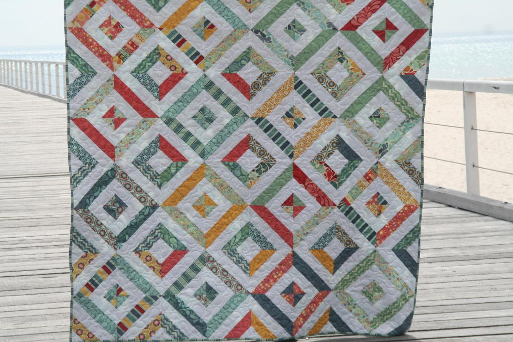 Summer at the Beach quilt pattern
