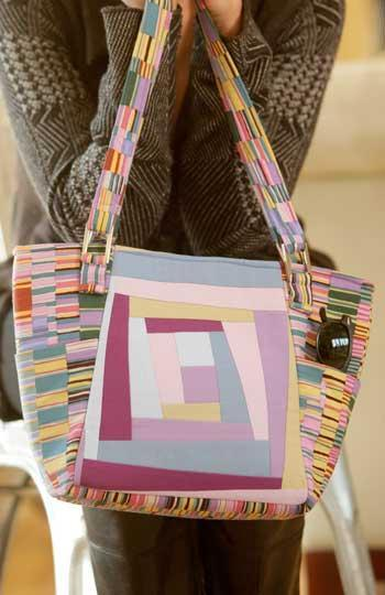 Urban Tote via Craftsy member Indygo Junction