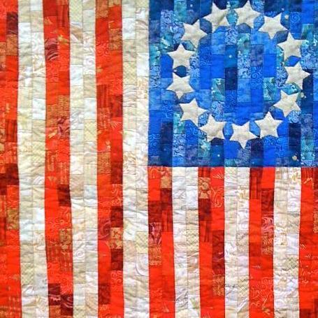 Betsy Ross Flag Quilt