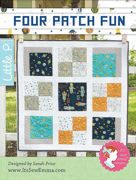 Four Patch Fun Quilt Pattern