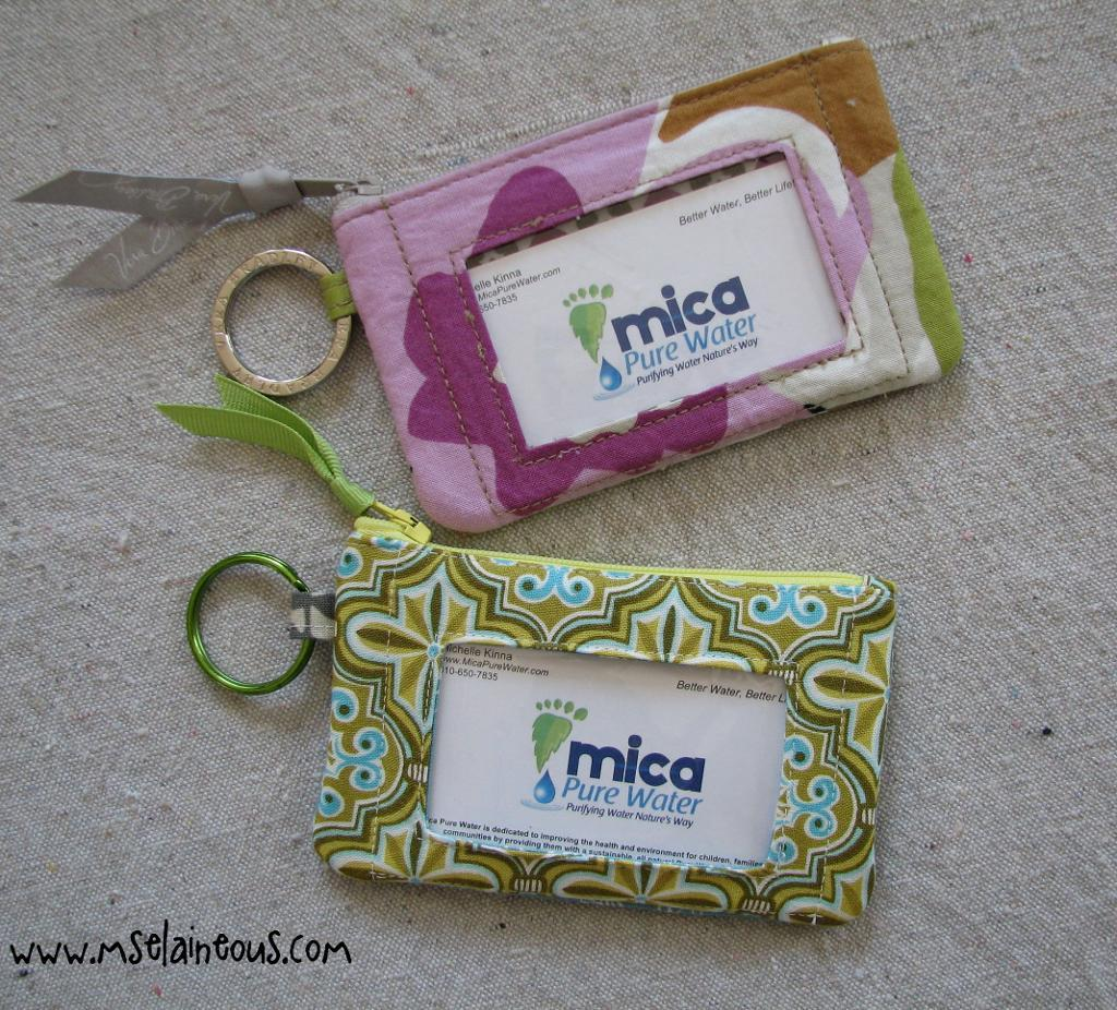 Inspired I.D. Wallet FREE Sewing Pattern