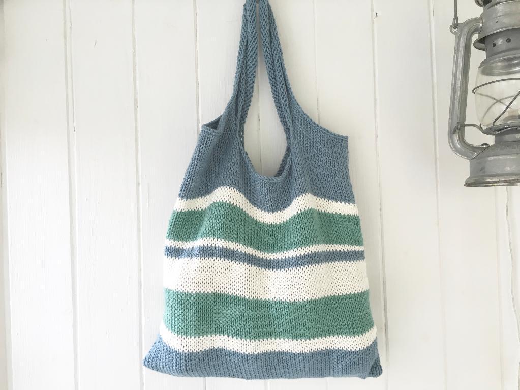 Pensacola Tote Bag Knitting Pattern