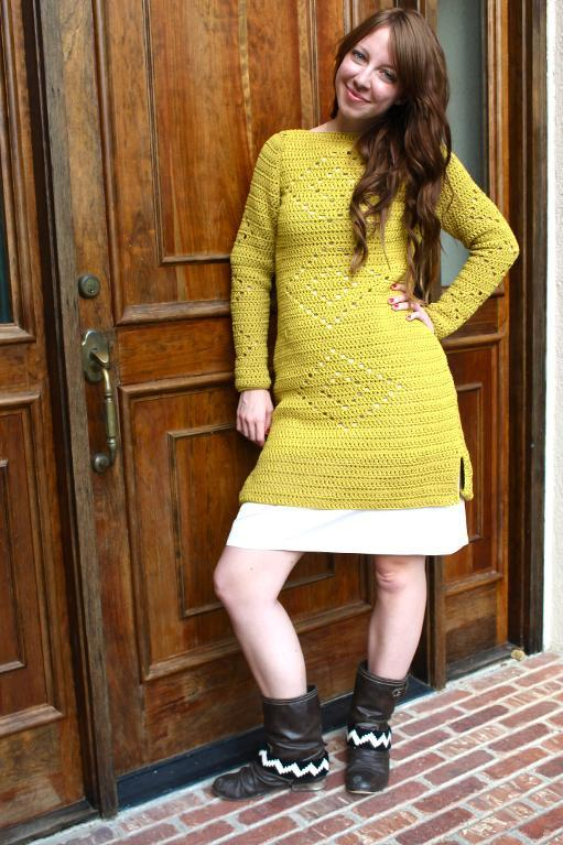 The Diamond Dress Crochet Pattern