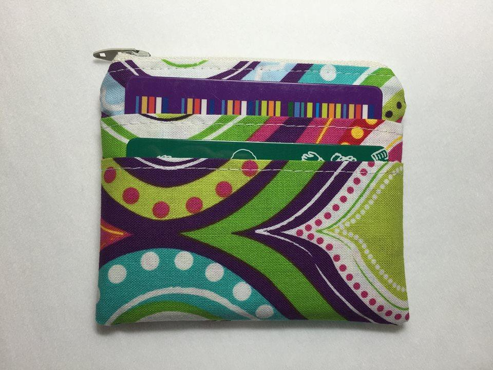 Cute Card and Coin Purse Zip FREE Sewing Pattern