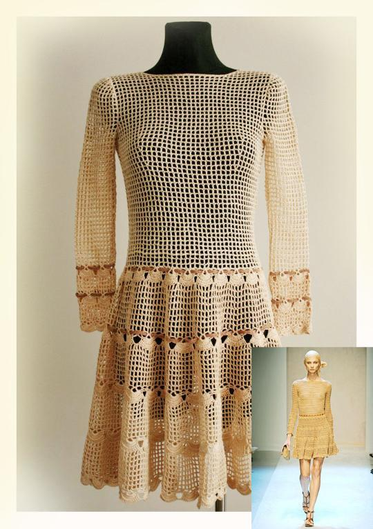 Women's Dress Crochet Pattern