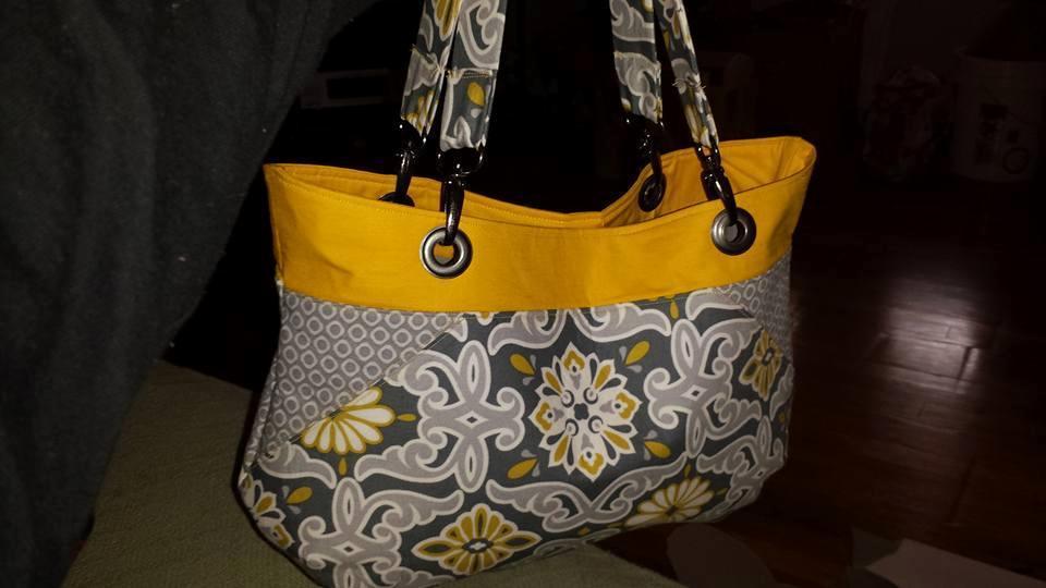 Yellow Coco Bag