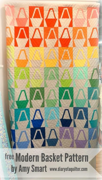 Modern Baskets quilt pattern