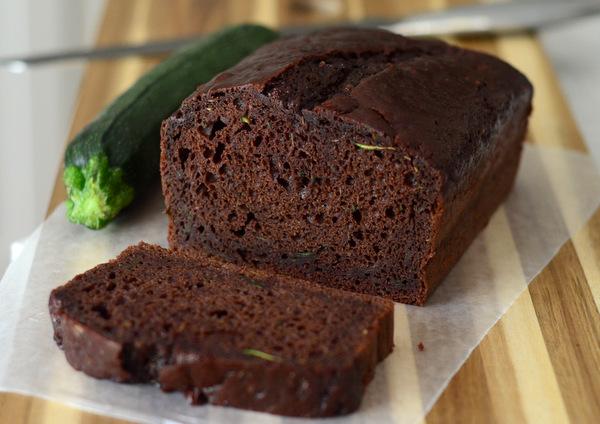 Lightened Up Chocolate Zucchini Bread Recipe