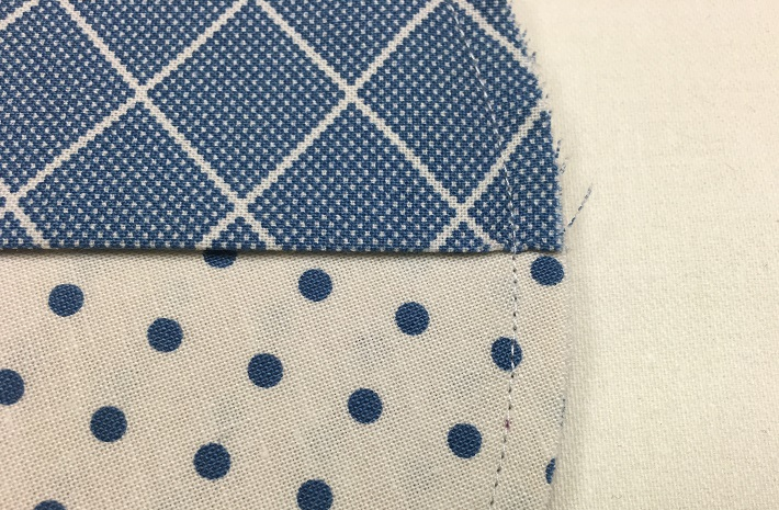 sew around the entire circle with quarter inch seam