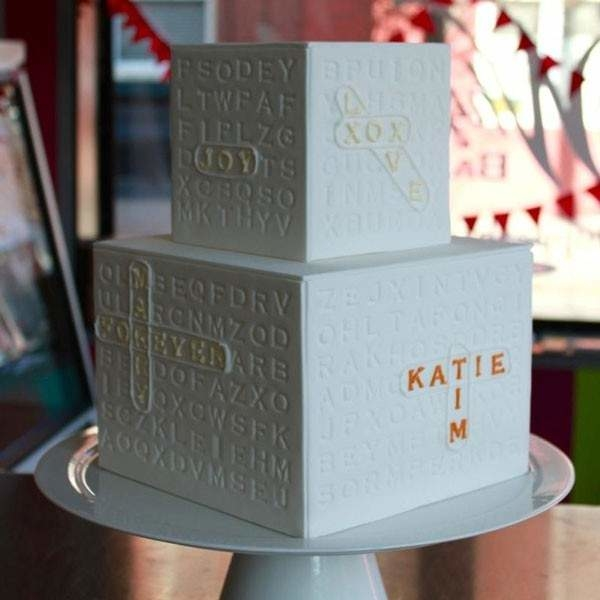 Wordsearch Wedding Cake