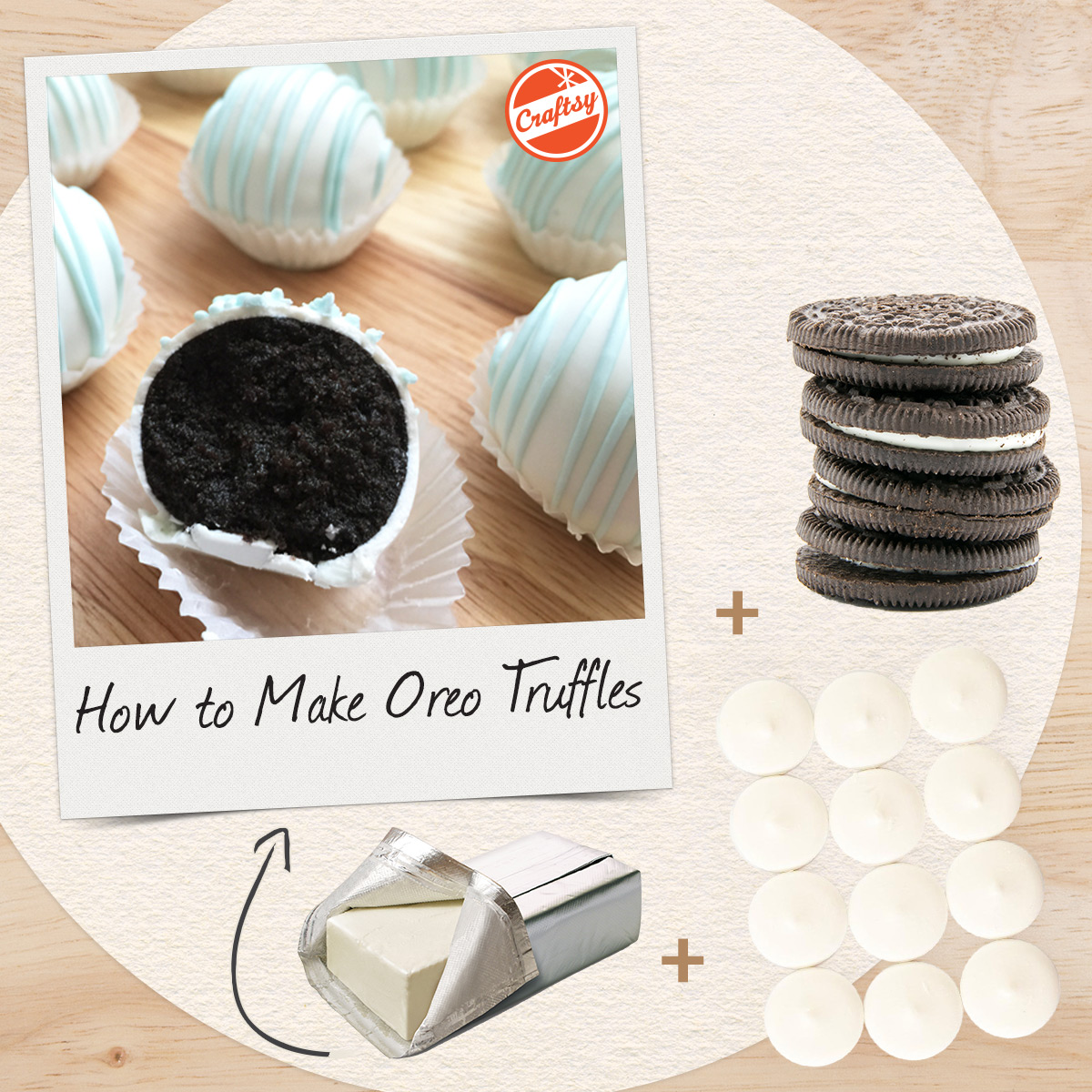 Three Ingredient Oreo Truffles