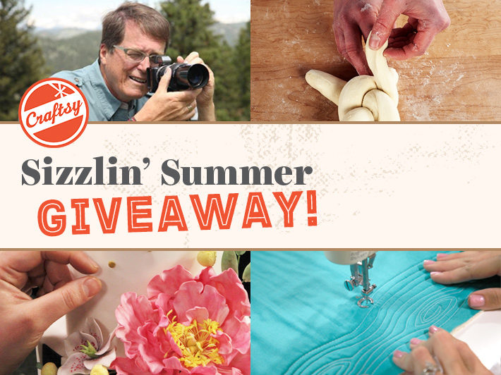 craftsy summer giveaway