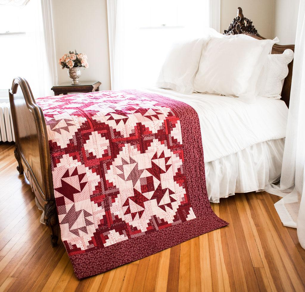 Welcome Home Pattern Quilt Kit