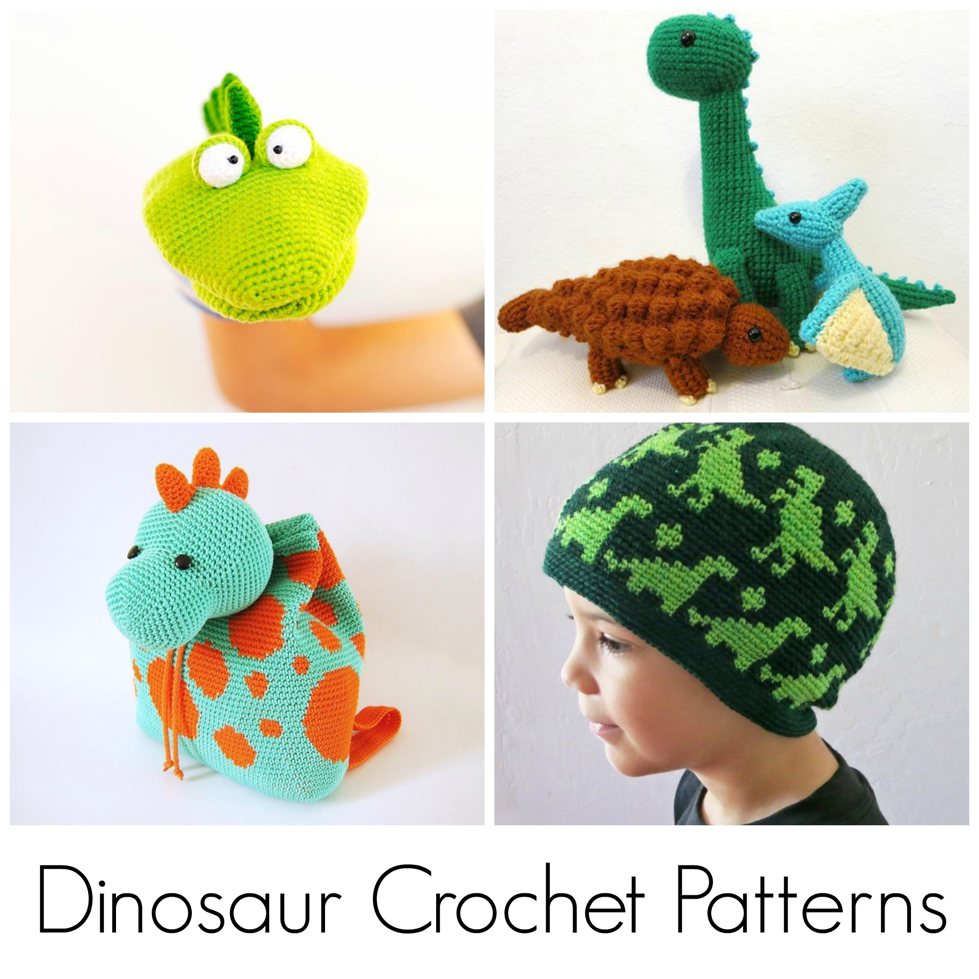 Dinosaur Crochet Patterns