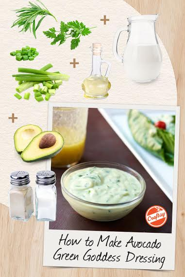 Ellie Krieger's Avocado Green Goddess Recipe