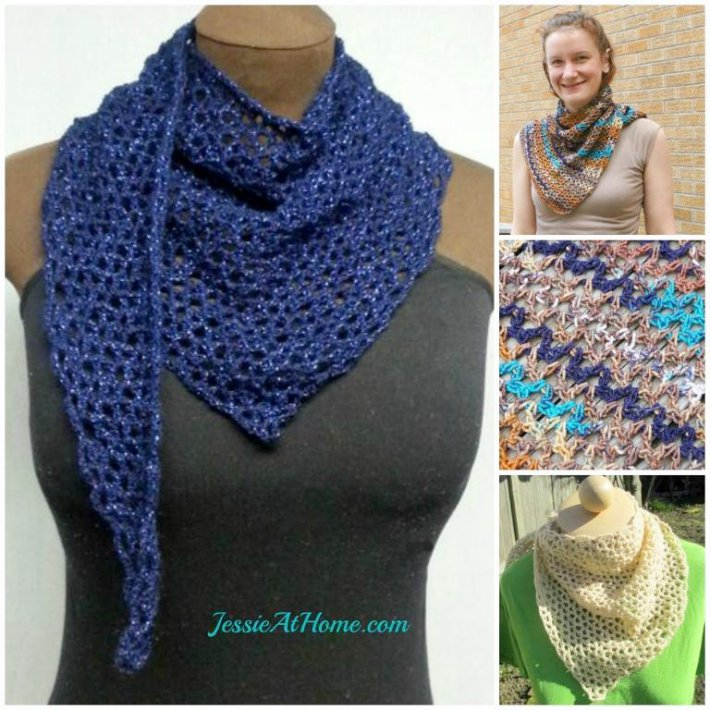 Free one skein crochet scarf Wrap