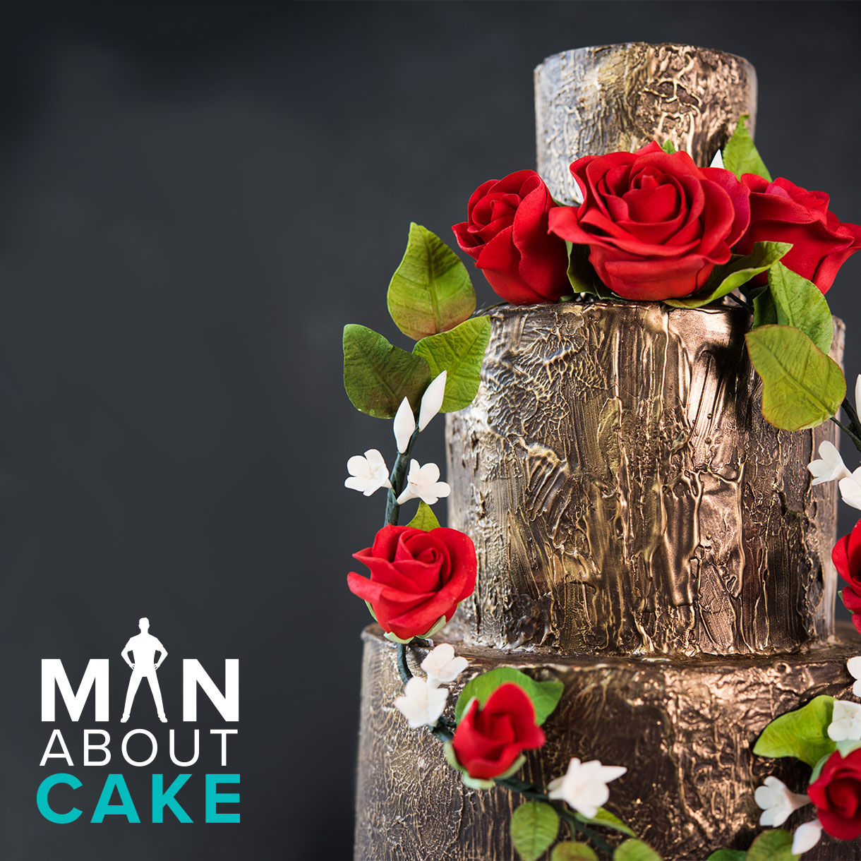 Floral Wreath Cake from Man About Cake