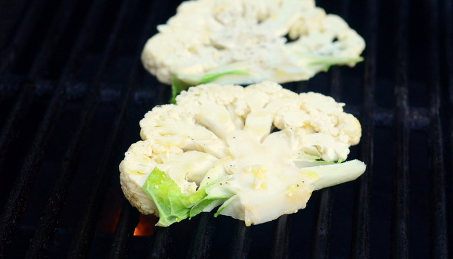 Cauliflower on the Grill