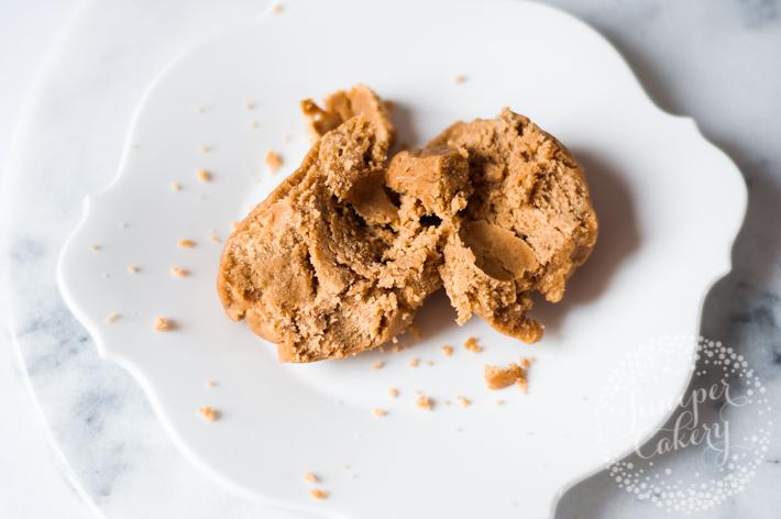 Eggless peanut butter cookie dough recipe