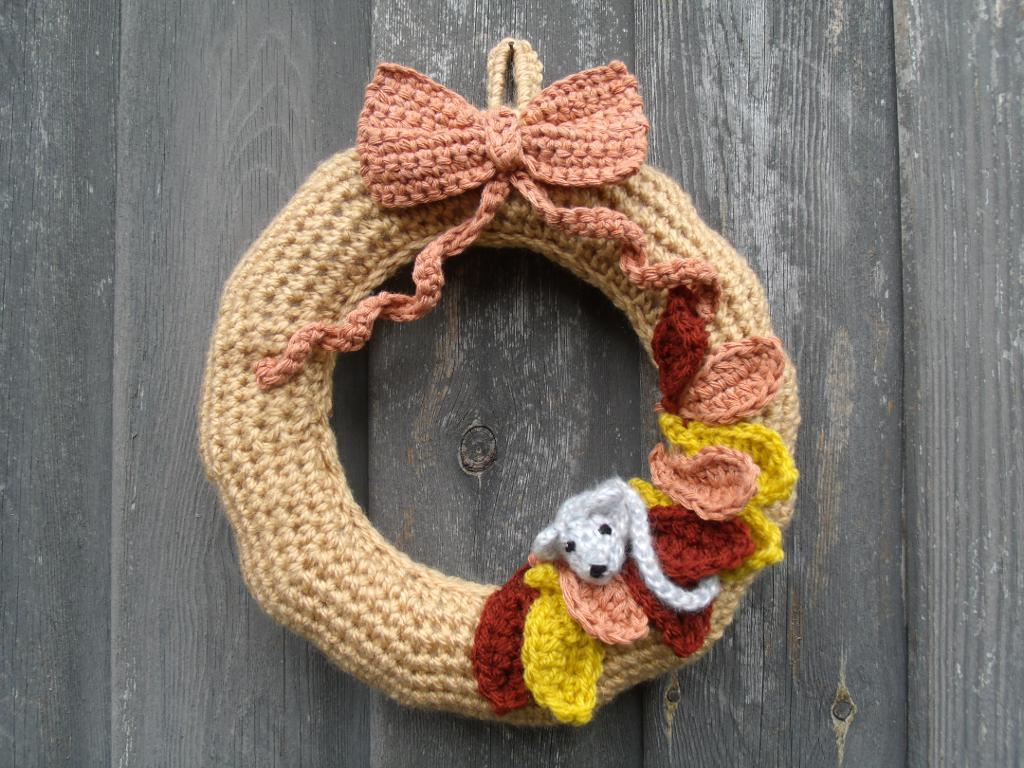 Autumn Wreath Crochet Pattern