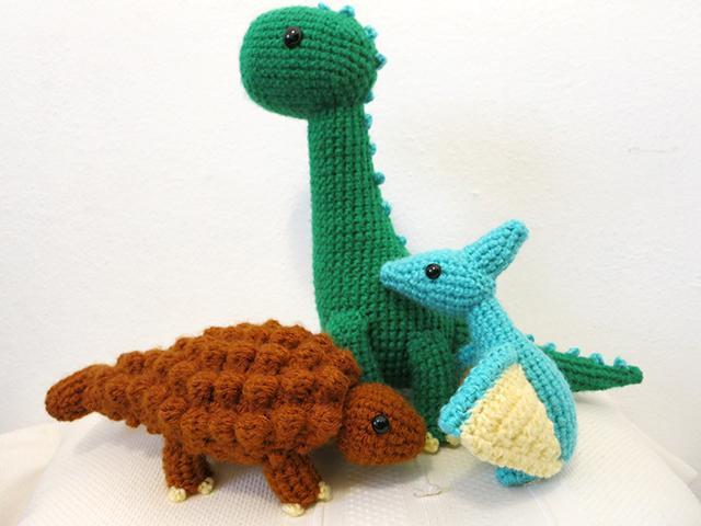 Amigurumi Crochet Dinosaur Pattern