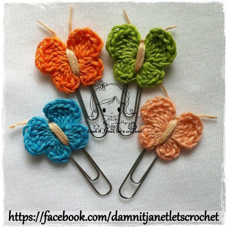 Butterfly Applique FREE Crochet Pattern