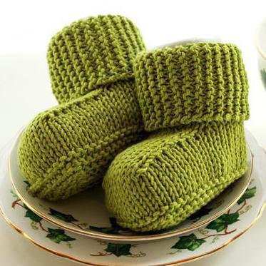 Knit  Baby Uggs