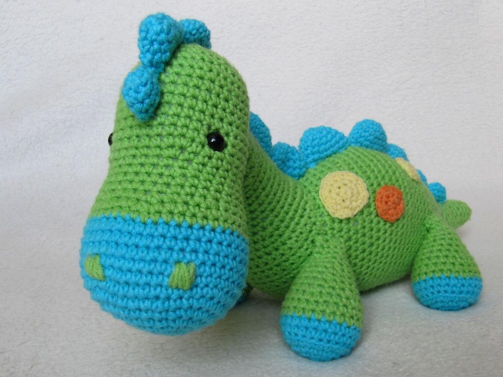 Dinosaur Dino Crochet Pattern