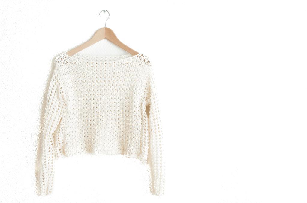 Saltus Sweater Crochet Pattern