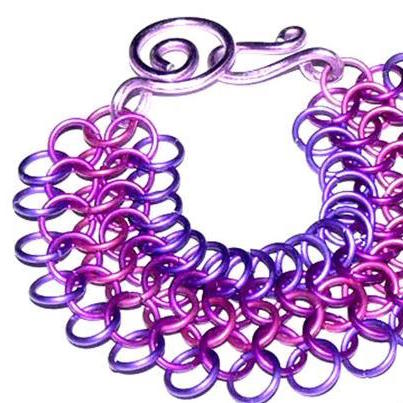 Over the Rainbow Chain Maille Tutorial