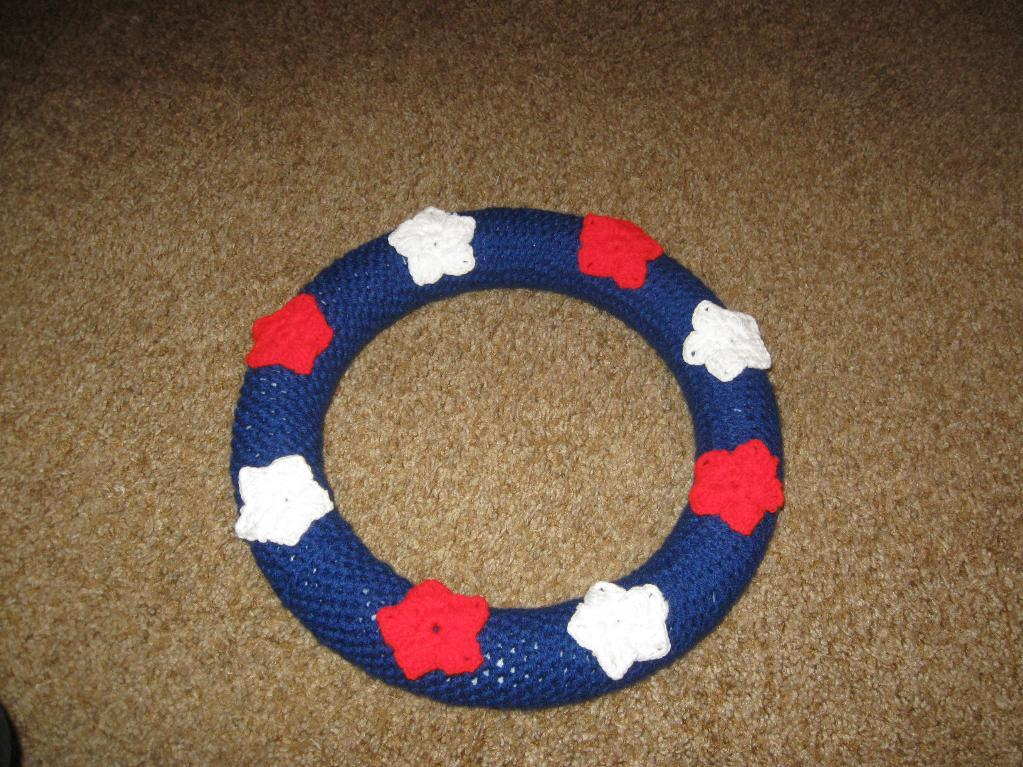 Star Wreath Crochet Pattern