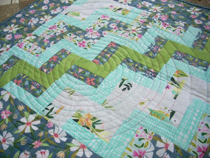 Classic Rail Fence Quilt pattern