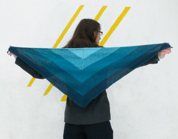 Arielle Knit Shawl Pattern