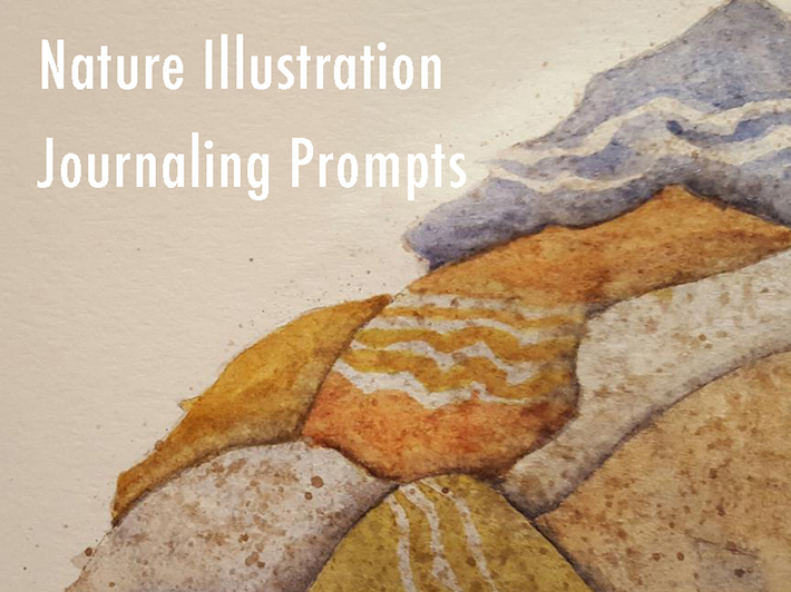 Nature Illustration Journaling Prompts