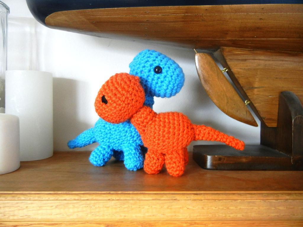Baby Brachiosaurus Crochet Toy Crochet Pattern