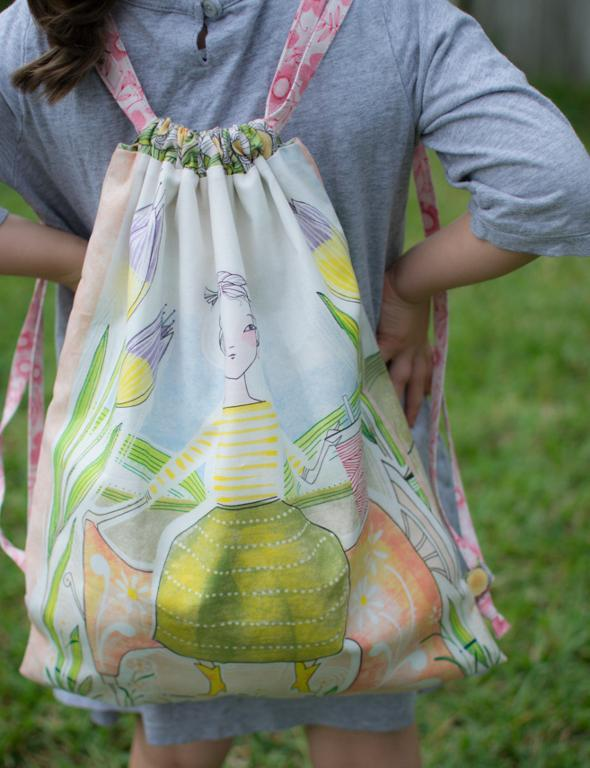 Fairy Drawstring Backpack