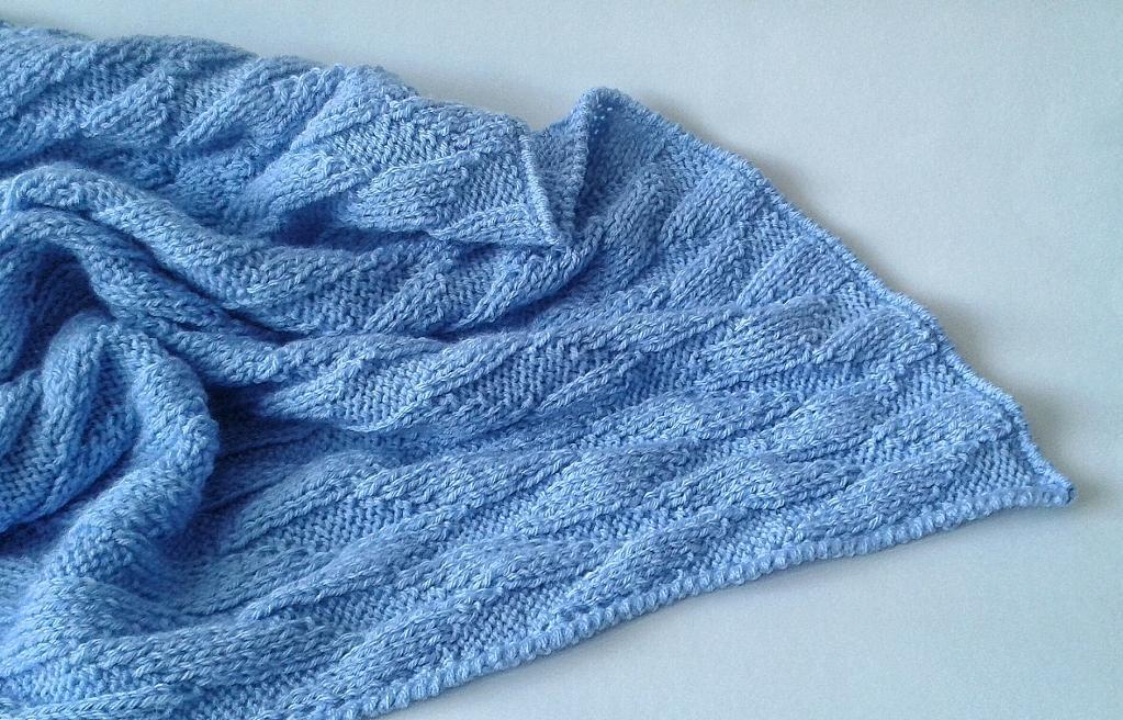 Blank Slate Knit Baby Blanket