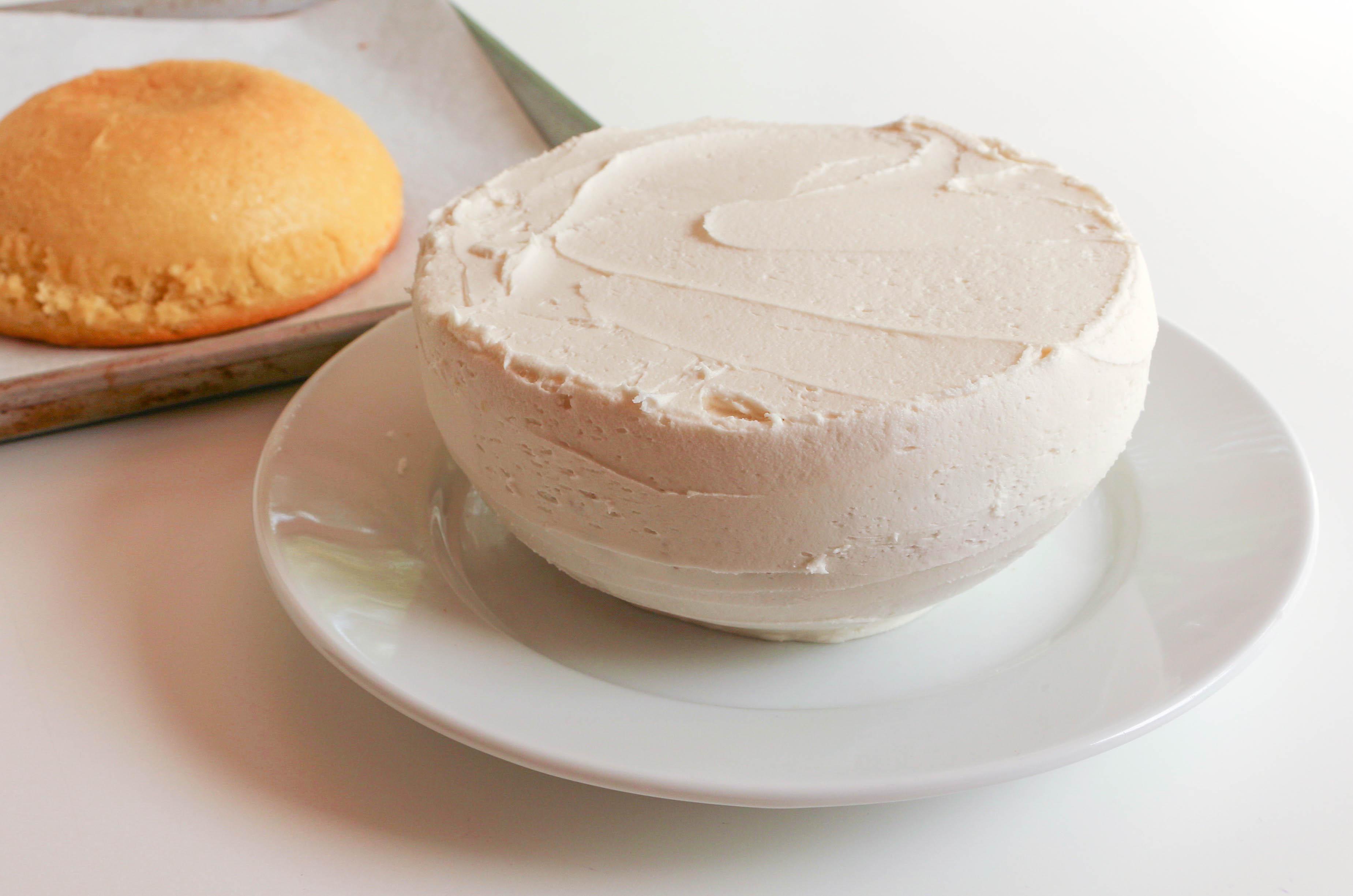 Filled Pokeball Cake | Erin Gardner | Bluprint