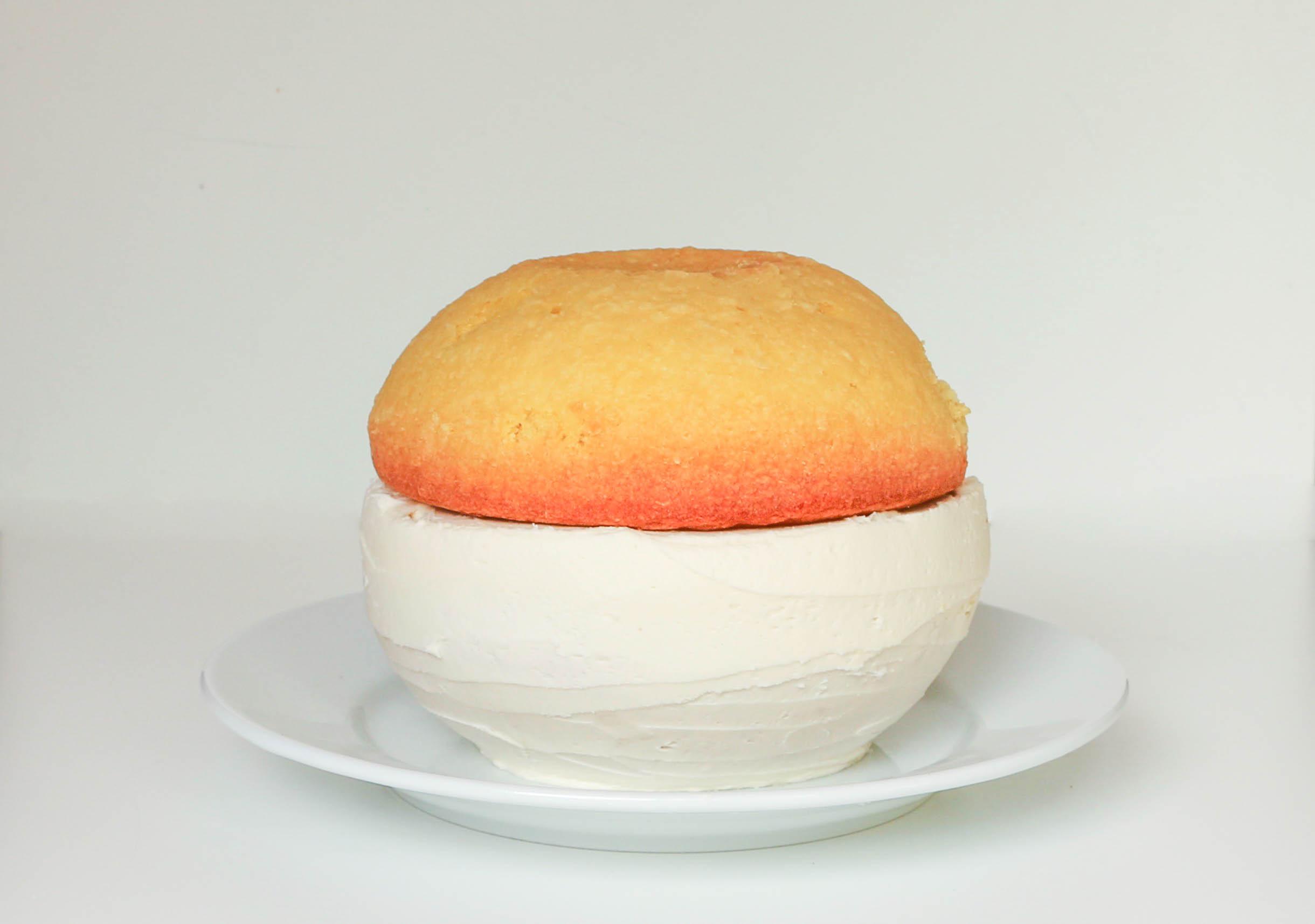 Filling the Pokeball Cake | Erin Gardner | Bluprint