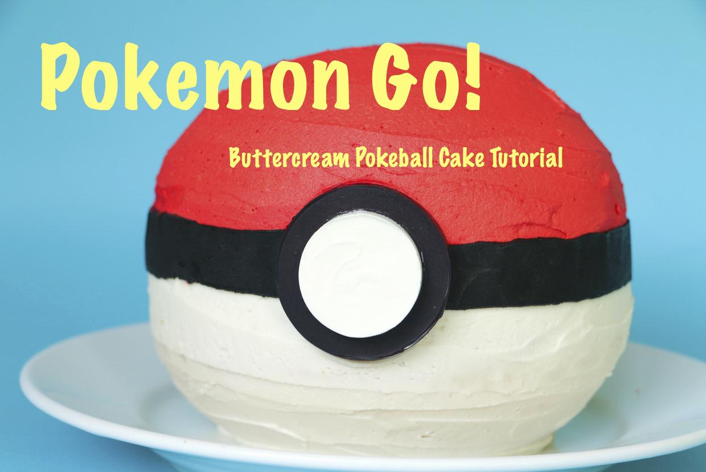 Pokemon Pokeball Cake Tutorial | Erin Gardner | Bluprint