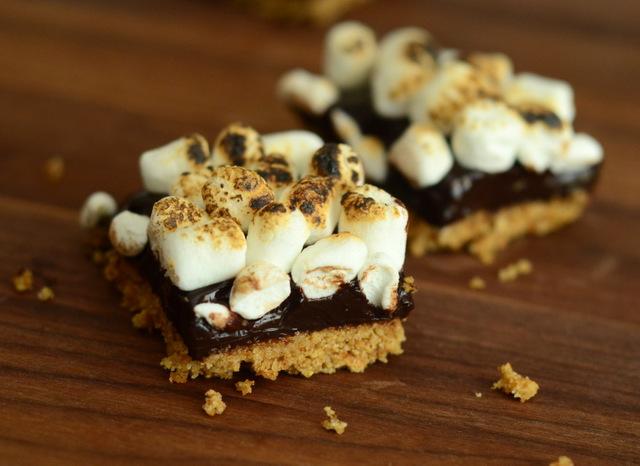 Easy, No-Bake S'mores Bars Recipe