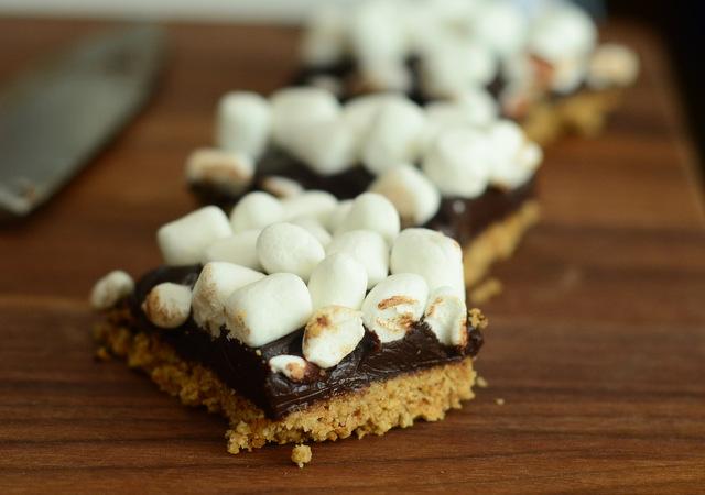 Easy, No-Bake S'mores Bars