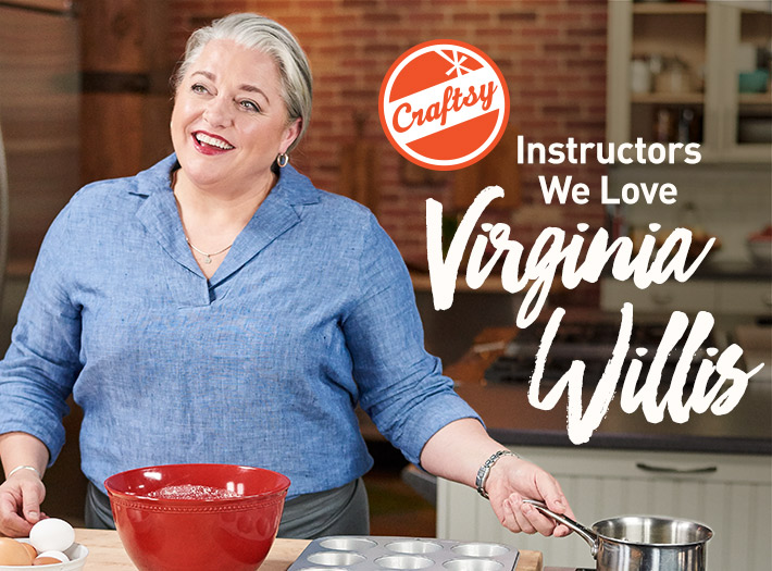 Bluprint cooking instructor Virginia Wilis