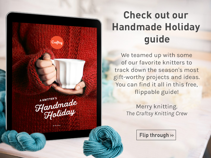 Check out A Knitter's Handmade Holiday on Bluprint!