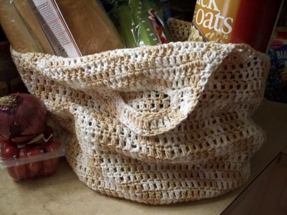Cotten Market Tote Crochet Pattern
