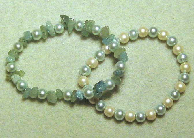 Easy Pearl beaded Bracelet